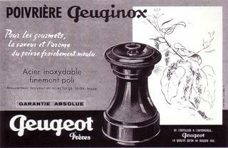 Kreation der Peuginox - Peugeot Saveurs