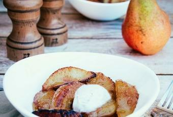 Quick & Easy Caramelized Pears Recipe
